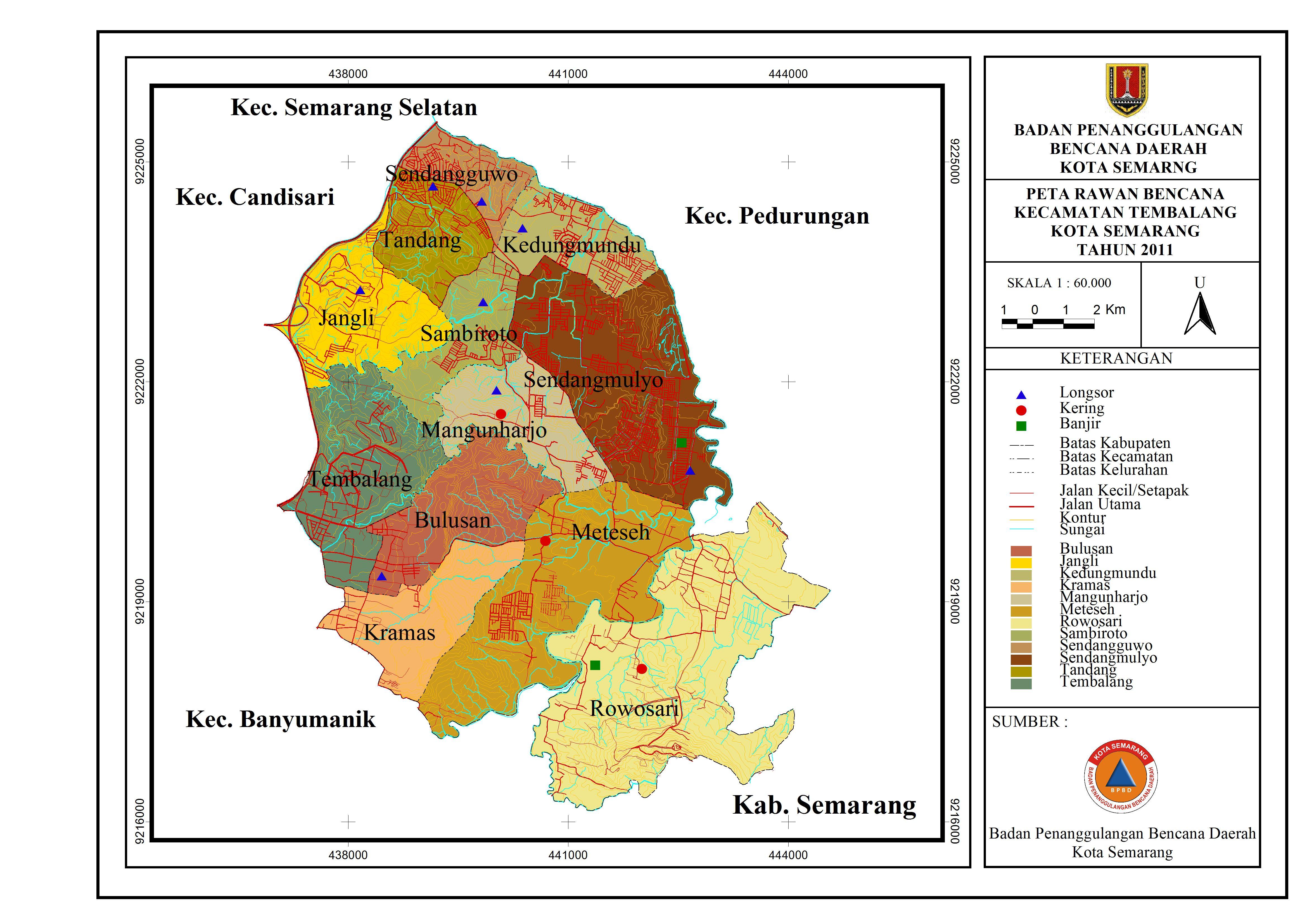 Peta Rawan Bencana 2011